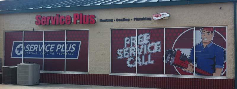 Service Plus Heating, Cooling & Plumbing  317-434-2627